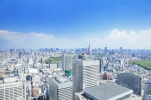東京のビル群