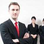 a portrait of businessperson